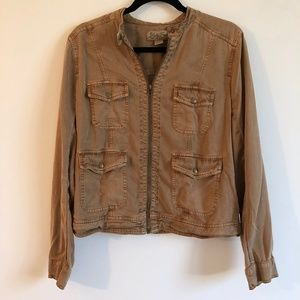 Lucky Brand Brown Lightweight Jacket | L